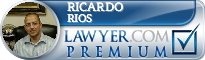 Ricardo Javier Rios  Lawyer Badge