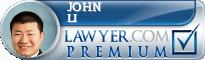 John Li  Lawyer Badge
