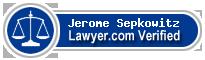 Jerome S. Sepkowitz  Lawyer Badge