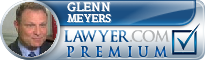Glenn R. Meyers  Lawyer Badge