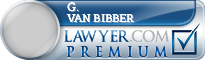 G. Wayne Van Bibber  Lawyer Badge