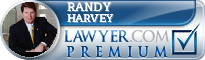 Randy J. Harvey  Lawyer Badge