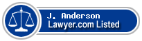 J. Anderson Lawyer Badge