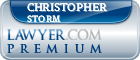 Christopher D. Storm  Lawyer Badge