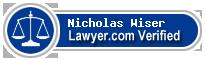 Nicholas Van Wiser  Lawyer Badge