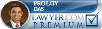 Proloy K. Das  Lawyer Badge