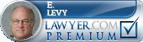 E. Robert Levy  Lawyer Badge