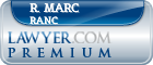 R. Marc Ranc  Lawyer Badge