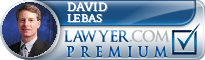 David L. LeBas  Lawyer Badge