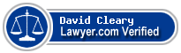 David L. Cleary  Lawyer Badge