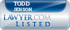 Todd Jenson Lawyer Badge