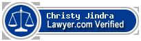 Christy Robert Jindra  Lawyer Badge