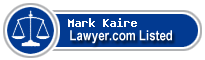 Mark Kaire Lawyer Badge