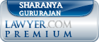Sharanya Gururajan  Lawyer Badge