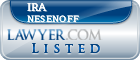 Ira Nesenoff Lawyer Badge