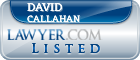David Callahan Lawyer Badge