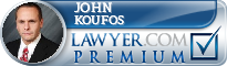 John G. Koufos  Lawyer Badge