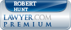 Robert F. Hunt  Lawyer Badge