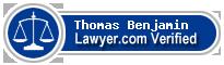 Thomas B. Benjamin  Lawyer Badge