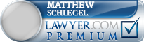 Matthew W. Schlegel  Lawyer Badge