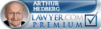 Arthur C Hedberg  Lawyer Badge