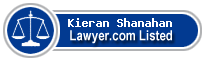 Kieran Shanahan Lawyer Badge