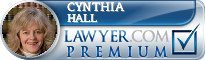Cynthia Dell Hall  Lawyer Badge