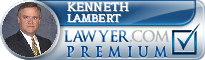 Kenneth J. Lambert  Lawyer Badge