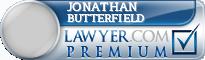 Jonathan E. Butterfield  Lawyer Badge