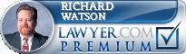 Richard C Watson  Lawyer Badge