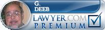 G. Phillip Deeb  Lawyer Badge