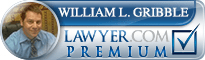 William L. Gribble  Lawyer Badge