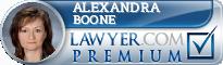 Alexandra V Boone  Lawyer Badge