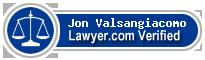 Jon David Valsangiacomo  Lawyer Badge