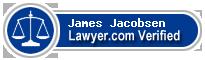 James P. Jacobsen  Lawyer Badge