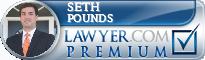 Seth W. Pounds  Lawyer Badge