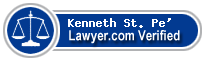 Kenneth D. St. Pe'  Lawyer Badge