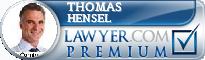 Thomas M. Hensel  Lawyer Badge