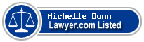 Michelle Dunn Lawyer Badge