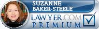 Suzanne Baker-Steele  Lawyer Badge
