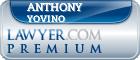 Anthony Yovino  Lawyer Badge