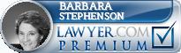 Barbara G. Stephenson  Lawyer Badge