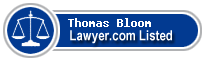 Thomas Bloom Lawyer Badge