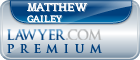 Matthew David Gailey  Lawyer Badge