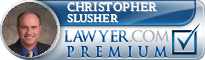 Christopher A. Slusher  Lawyer Badge
