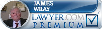 James W. Wray  Lawyer Badge