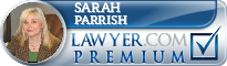 Sarah Lee Parrish  Lawyer Badge