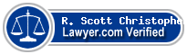 R. Scott Christopher  Lawyer Badge