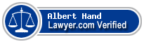 Albert M. Hand  Lawyer Badge
