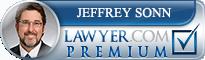 Jeffrey R. Sonn  Lawyer Badge
